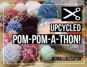 upcycled pompomathon